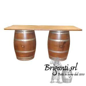 tavoli da osteria usati tavolo bancone con botti per bar osteria