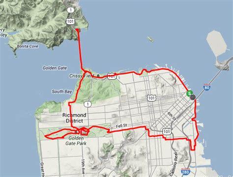 san francisco marathon map boston again or die trying june 2013