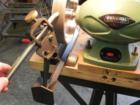 sharpen woodturning tools   jig blog