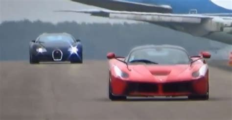what car beat the bugatti veyron laferrari beats bugatti veyron in drag race autoevolution