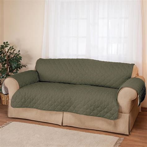 microfiber couch slipcover deluxe microfiber xl sofa cover by oakridgetm ebay