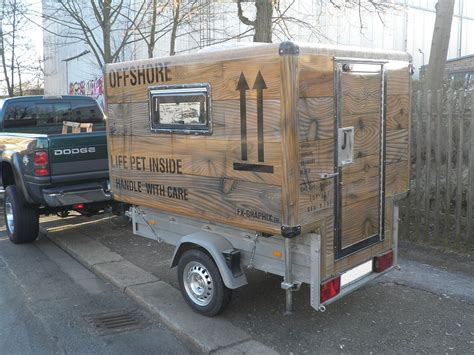 Wohnwagen Holz Lackieren by Auto Anh 228 Nger Wohnwagen Trailer Cer Airbrush Lack