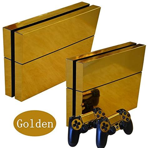 Ps4 Aufkleber Gold by Gold Glossy Decal Skin Sticker Aufkleber For Playstation 4