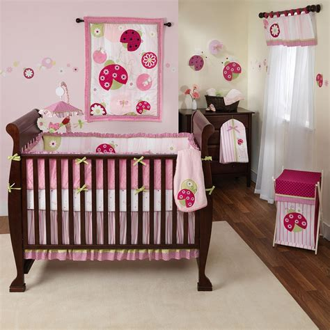 Ladybug Crib Bedding Set Tiddliwinks Ladybug Baby Crib Bedding Set Sweetie Pie Baby Crib Bedding Set