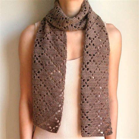 etsy pattern website diamond eyelet scarf pdf crochet pattern instant download