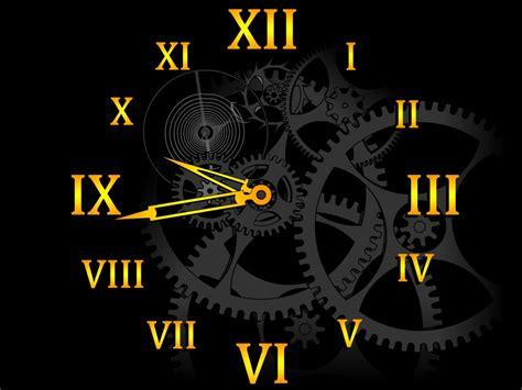 clock wallpaper for windows xp clock mechanism screensaver