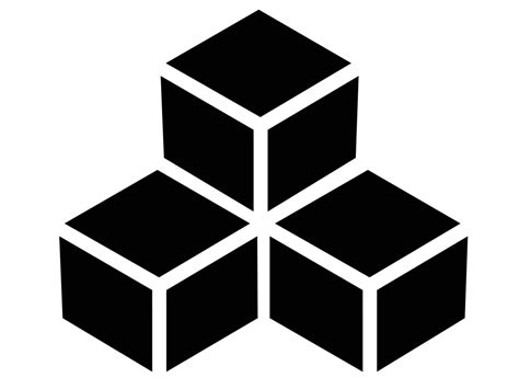 vector cube illustration trashedgraphics
