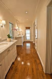 Ideas For Long Narrow Living Rooms - long master bathroom transitional bathroom the wills company