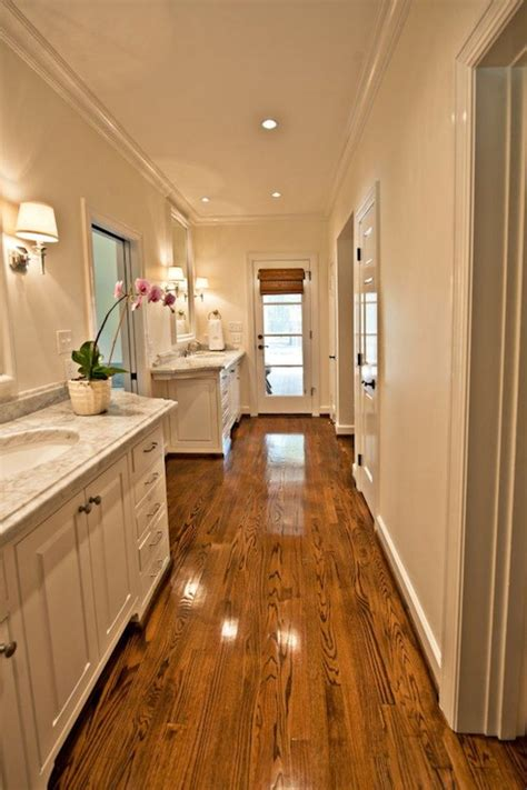 narrow master bathroom ideas long master bathroom transitional bathroom the wills