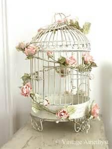 Birdcage Vintage Pink Roses » Modern Home Design