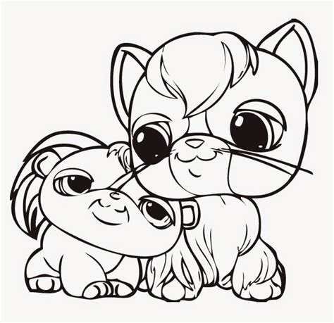 coloring pages of littlest pet shop dogs lps coloring pages biskits coloring pages