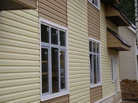 modern house exterior materials modern house colorful vinyl siding improving curb appeal of modern