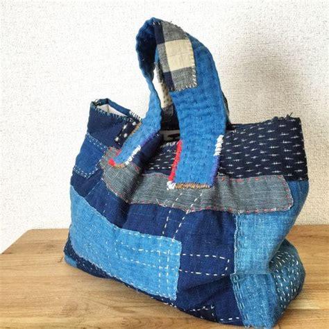 Dahana Sashiko Tote Bag 1000 images about diy bags on hobo bags patchwork bags and linen bag