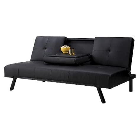 futon sofa bed target wynn cupholder futon target