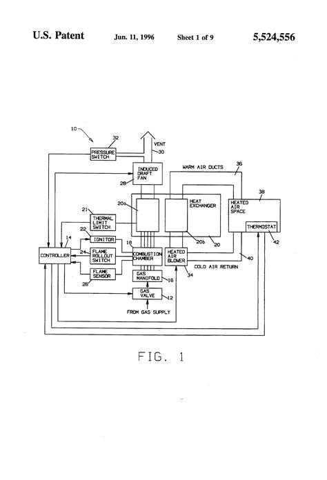 gas furnace heat exchanger diagram gas free engine image