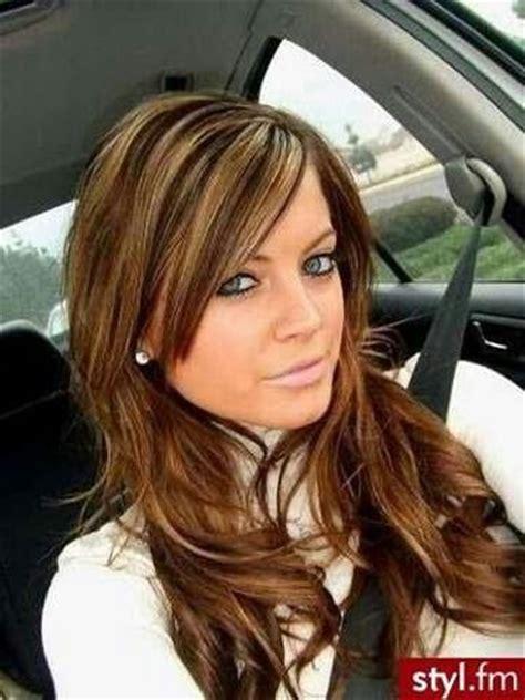 honey brown haie carmel highlights short hair carmel colored hair with honey blonde highlights hair