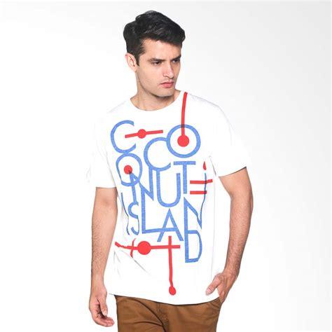 Harga Baju Merk Coconut Island jual coconut island t shirt easy cmet212w01 kaos
