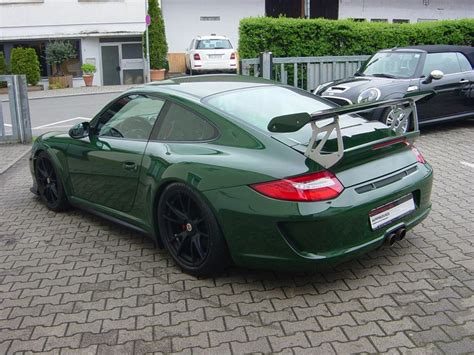 porsche 911 gt3 rs green spotlight british racing green porsche 997 gt3 rs