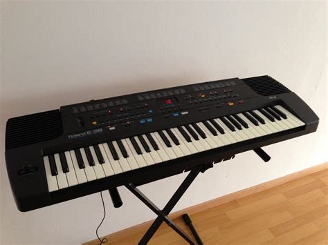 Keyboard Roland E40 e 38 roland e 38 audiofanzine
