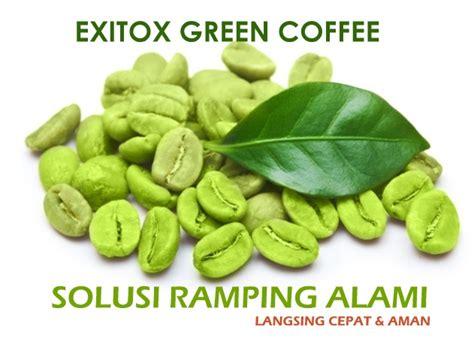 Resmi Green Coffee cara cepat melangsingkan tubuh dengan exitox green coffee