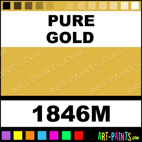 gold color code cmyk gold model metal paints and metallic paints 1846m