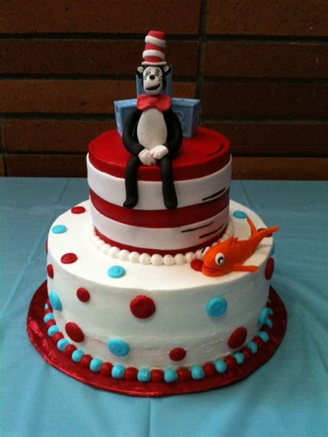 Cat In The Hat Baby Shower Decorations by Cat In The Hat Baby Shower Cake Cat In The Hat Baby