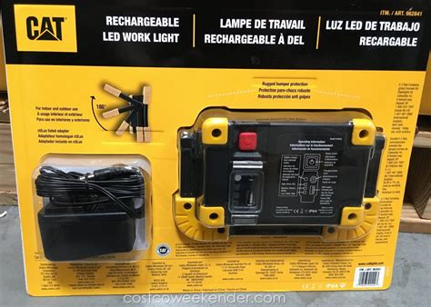 cat rechargeable led work light costco cat rechargeable led work light costco weekender
