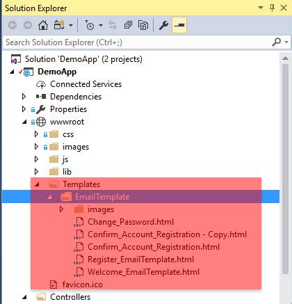 email templates for asp net send email using templates in asp net core applications