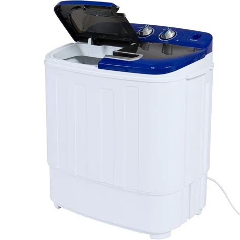 bathtub washer portable mini twin tub washing machine w spin cycle