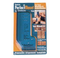 Kitchen Cabinet Hardware Template Laurey 98201 Perfect Mount Precision Allignment Template
