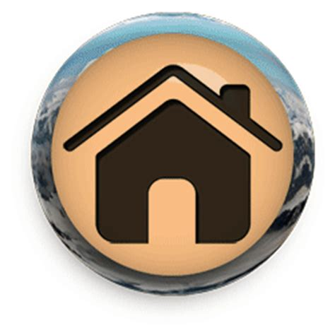 free animated home buttons home clipart