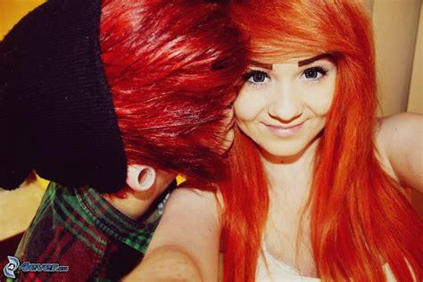 imagenes besos emo emo pareja