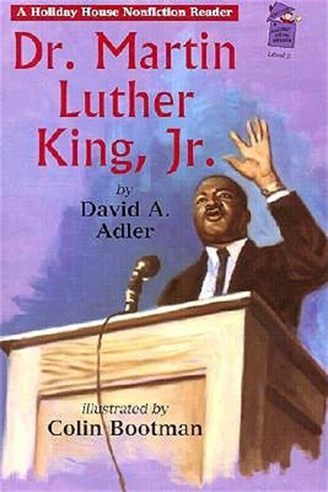 biography book of martin luther king jr dr martin luther king jr by david a adler reviews