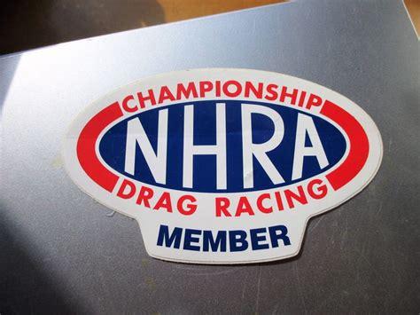 Nhra Stickers