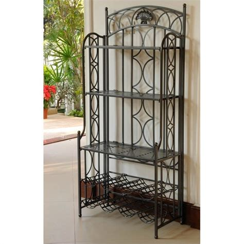 Bakers Rack Antique by Bakers Rack In Antique Black 3440 Ant Bk