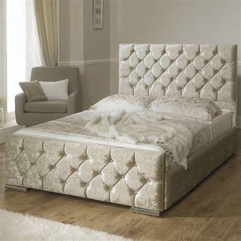 velvet upholstered bed clara diamond velvet upholstered bed frame luxury fabric