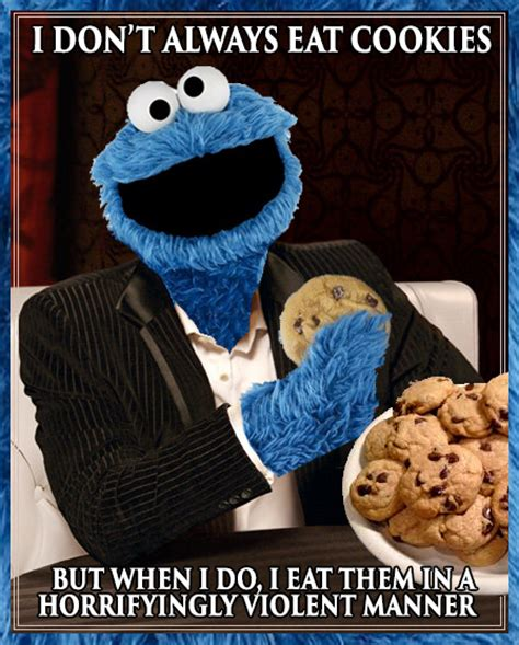 cookie monster dos equis meme