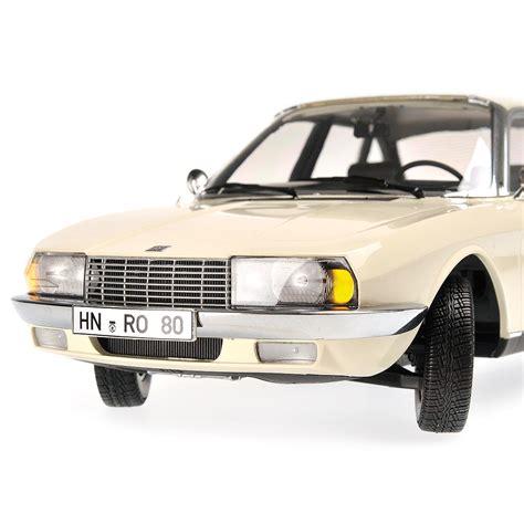 Gama Nsu Ro80 Sedan White 1 43 Scale Diecast Model New 1972 nsu ro 80 by minichs 1 18 scale choice gear