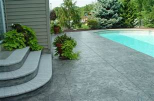 Concrete Patio Ideas Backyard Sted Concrete Patio Stairs Ideas And Around Small Pool For Patio Backyard Sted Concrete