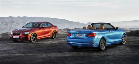 bmw 2 series coupe and convertible been upgraded for