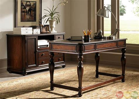 Kingston Plantation 2 Piece Traditional Home Office Writing Desks Home Office