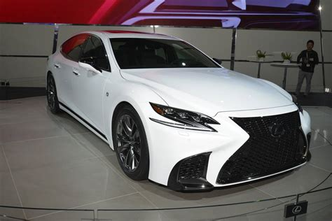 lexus sport car 2017 new york 2017 lexus ls f sport gtspirit