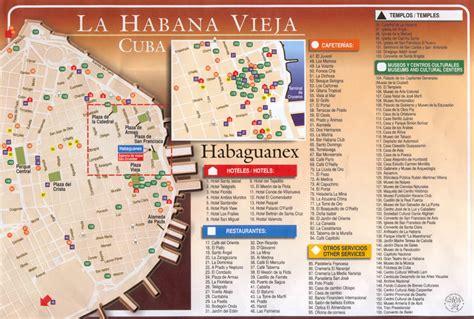 printable map havana habana vieja maps gallery