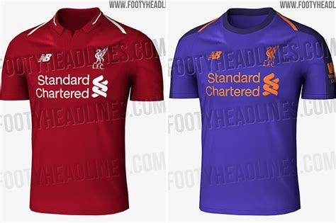 Tshirt Umbro Chap Edition Cl liverpool s 2018 19 kits leaked with a bold new colour for