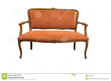 white vintage couch antique sofa stock photo image 34237030