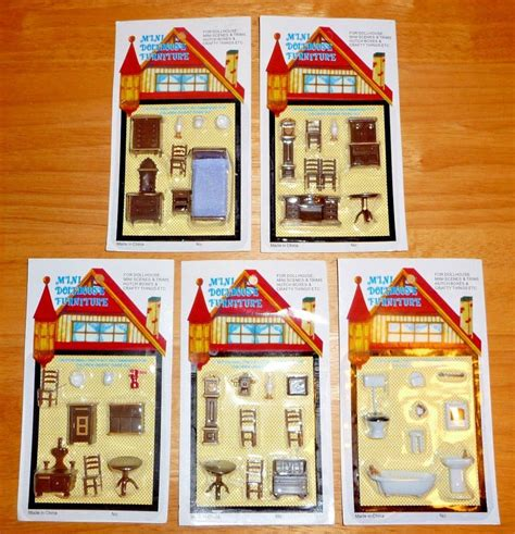 low price speisesaal sets mini dollhouse 5 sets of furniture 1 4 or 1 48 scale for