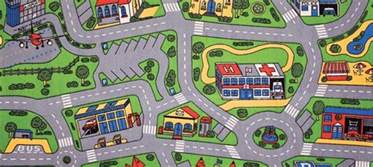 City Mat by Streets Play Mats For Play Rug For Cars More