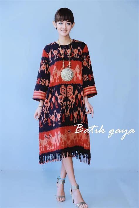 Blouse Dress Maxi Dress Tenun Fashion Wanita 17 best images about koleksi tenun on casual styles cotton kaftan and chic