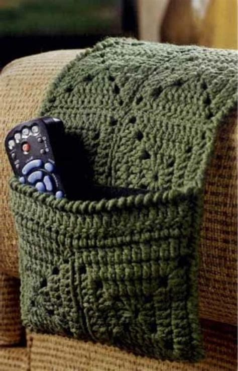 crochet remote control holder httplometscom