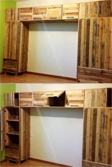 repurposed wood pallet closet diy ideas diy motive